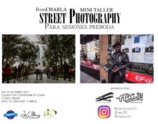 "Foto Charla y Taller ""StreetPhotography para sesiones Pre-Boda"""